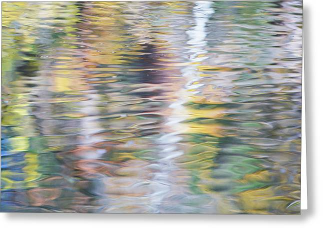 Merced River Reflections 16 Greeting Card by Larry Marshall