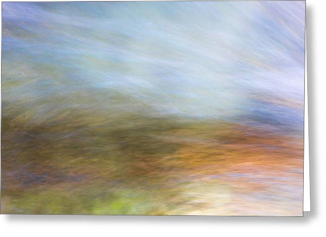 Merced River Reflections 21 Greeting Card by Larry Marshall