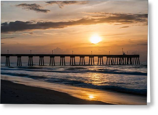 Ocean. Reflection Greeting Cards - Mercers Greeting Card by Chad Talton