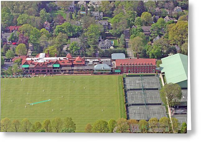 Merion Cricket Club Philadelphia Cricket Club Greeting Card by Duncan Pearson