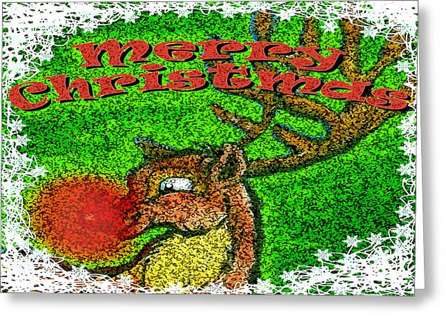Merry Christmas Greeting Card by Kevin Middleton