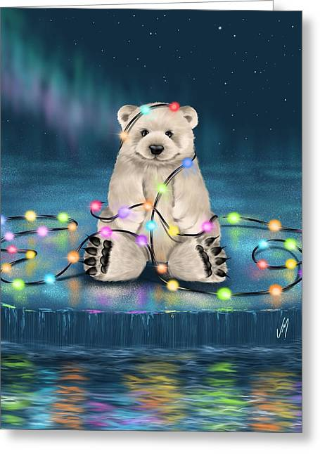 Merry Christmas  Greeting Card by Veronica Minozzi