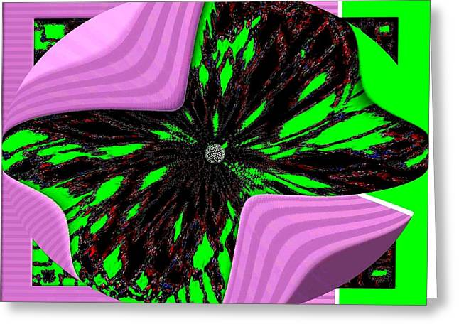 Transformations Digital Greeting Cards - Metamorphose Greeting Card by Will Borden