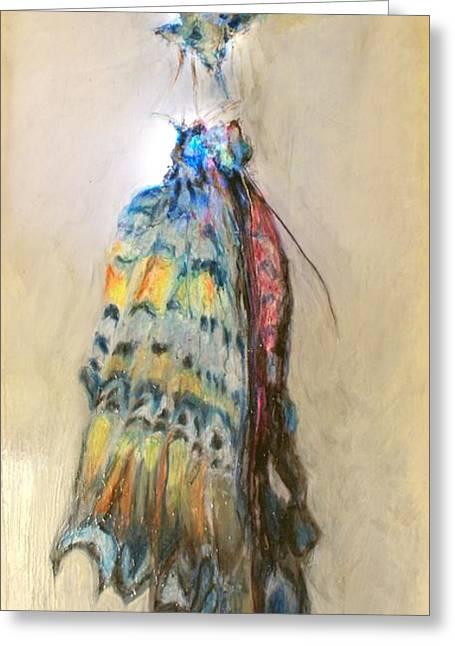 Biblical Pastels Greeting Cards - Metamorphosis Greeting Card by Patty Kingsley