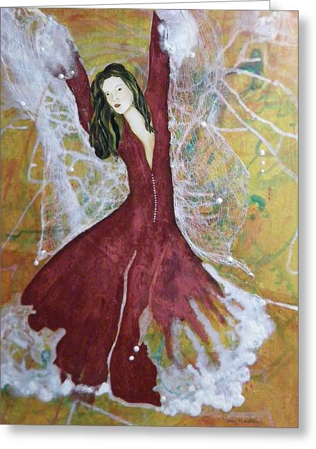 Good Witch Greeting Cards - Metamorphosis  Greeting Card by Terry Honstead