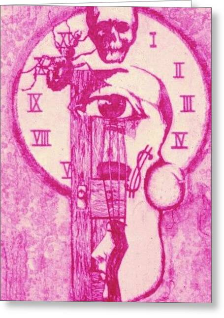 Kafka Paintings Greeting Cards - Metamorphosis Greeting Card by Wayne Vander Jagt