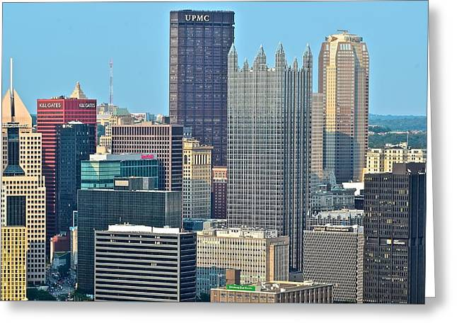 Upmc Greeting Cards - Metropolis Greeting Card by Frozen in Time Fine Art Photography