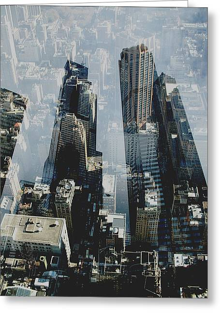 City Art Greeting Cards - Metropolis III  Greeting Card by David Studwell