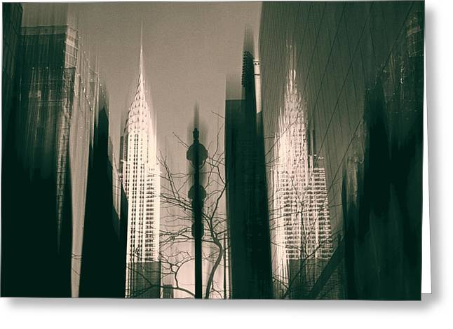 Metropolis IIl Greeting Card by Jessica Jenney