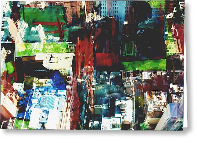 City Art Greeting Cards - Metropolis VIII Greeting Card by David Studwell