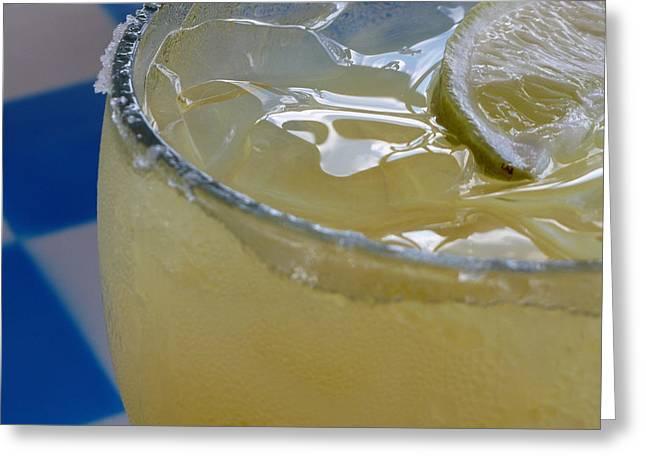 Mexican Margarita - On The Rocks With Salt Greeting Card by Jason Freedman