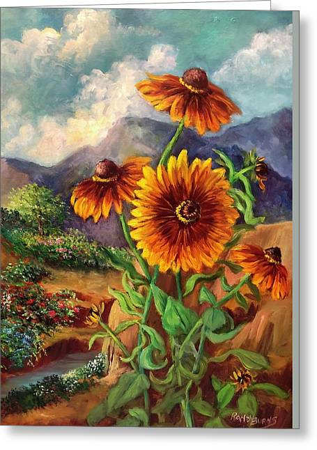Mexico Dreams Greeting Card by Randol Burns