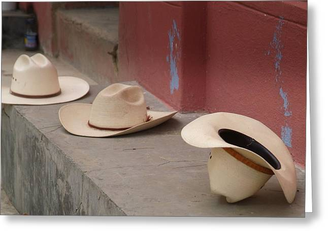 Reverence Photographs Greeting Cards - Mexico..reverence for the Lord. Greeting Card by Al  Swasey