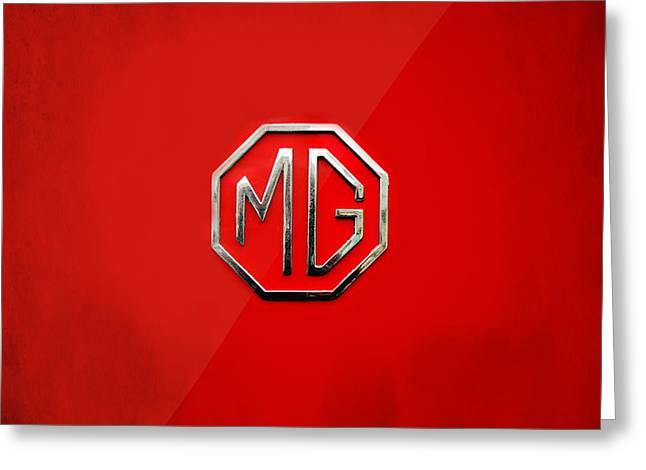 MG Greeting Card by Mark Rogan