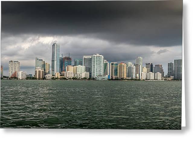 Miami Magic Greeting Card by Scott Mullin
