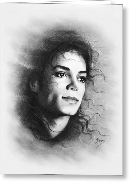 Jackson Pastels Greeting Cards - Michael Greeting Card by Ludmila Zimina