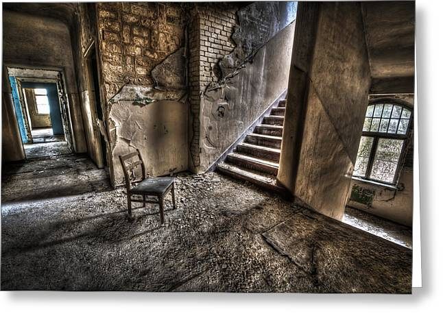 Middle floor seating Greeting Card by Nathan Wright