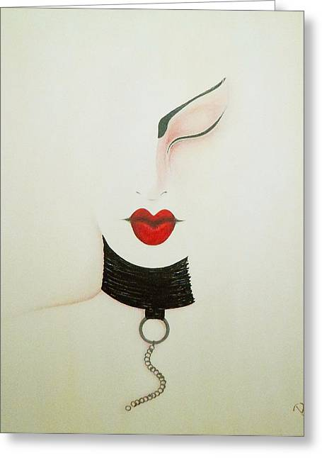 Midnight Greeting Card by Bridget Dedyuhina-Rymell