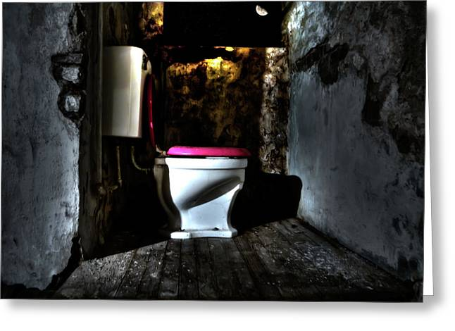 Unoccupied Greeting Cards - Midnight Throne Greeting Card by Scott  Wyatt