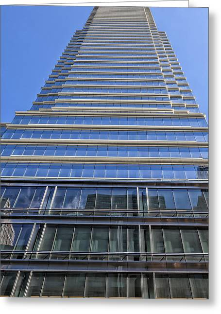 Midtown Greeting Cards - Midtown East Office Building NYC Greeting Card by Robert Ullmann