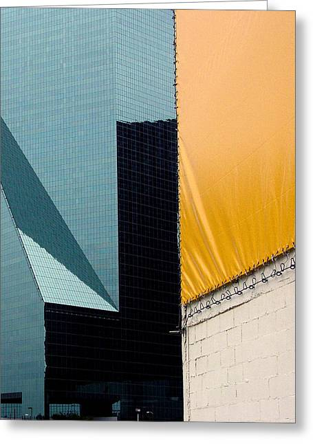 Ross Odom Greeting Cards - Midtown Greeting Card by Ross Odom
