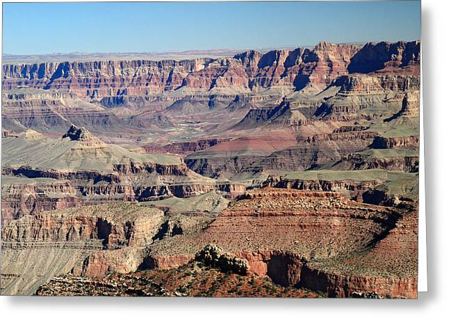 The Grand Canyon Greeting Cards - Mighty Grand Canyon Greeting Card by Pierre Leclerc Photography