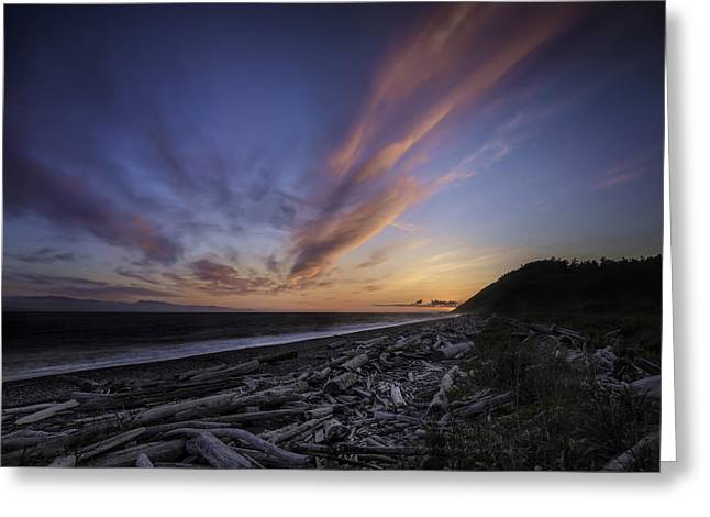 Fort Casey Greeting Cards - Mighty Sky Greeting Card by Ryan McGinnis