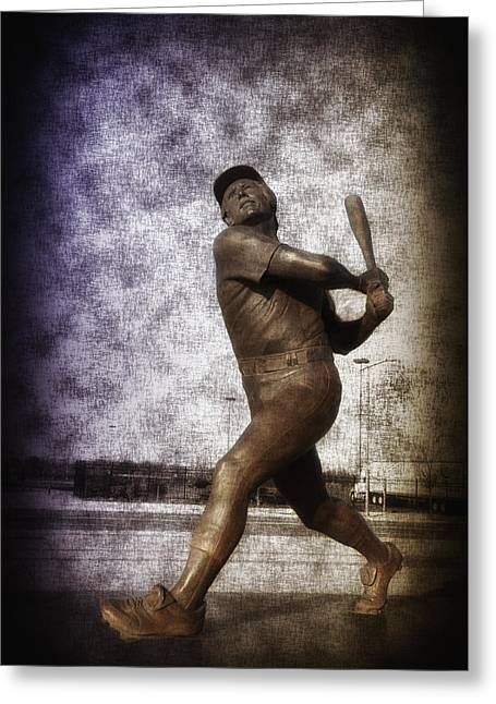Phillie Digital Greeting Cards - Mike Schmidt - Philadelphia Phillie Greeting Card by Bill Cannon