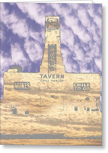Seattle Taverns Greeting Cards - Mikes Greeting Card by Tim Allen