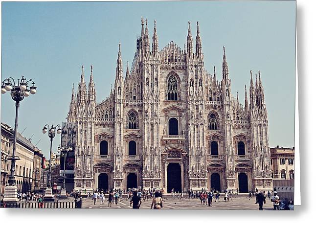 National Commercial Greeting Cards - Milan Cathedral Greeting Card by Benjamin Matthijs