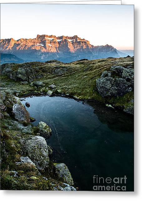 Swiss Photographs Greeting Cards - Milchspueler Greeting Card by Peter Wey
