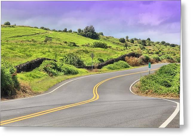 Paradise Road Greeting Cards - Mile 17 Greeting Card by DJ Florek