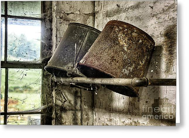 Interior Still Life Greeting Cards - Milk Room Greeting Card by John Greim