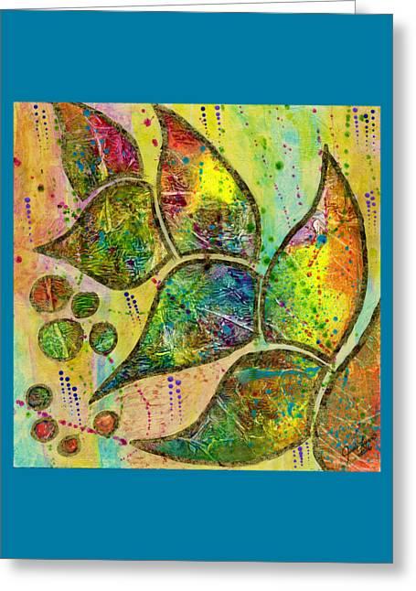 Milkweed Greeting Card by The Art Of JudiLynn