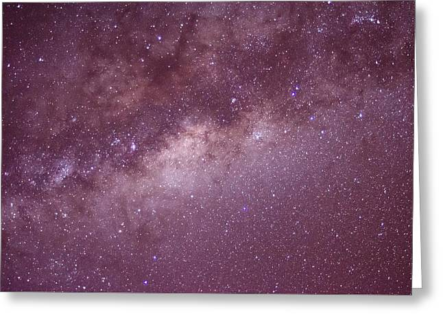 Constellations Greeting Cards - Milky way Greeting Card by Daniel Precht