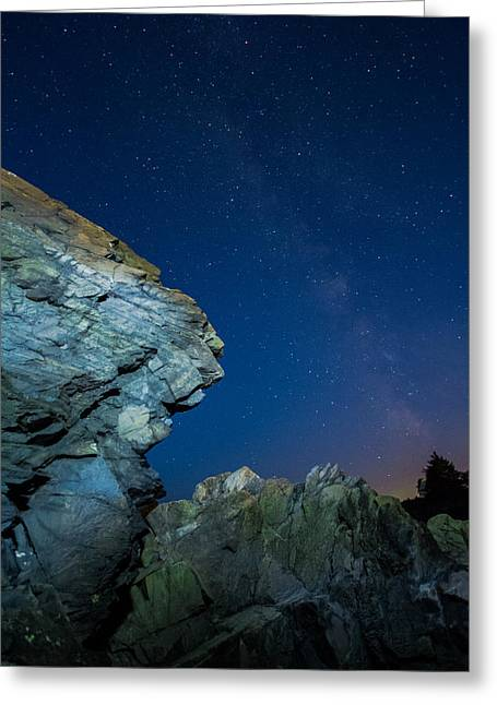 Milky Way Greeting Card by William Sanger