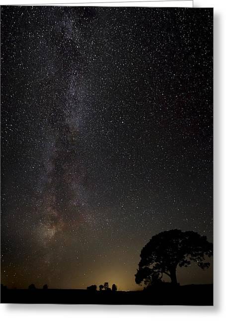 Astronomy Greeting Cards - Milkyway Greeting Card by Kaspars Kurcens