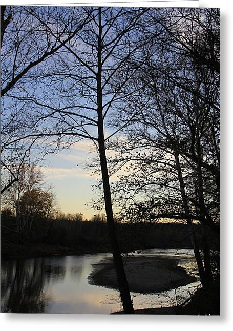 Indiana Rivers Digital Greeting Cards - Mill Creek Memories Greeting Card by Ed Smith