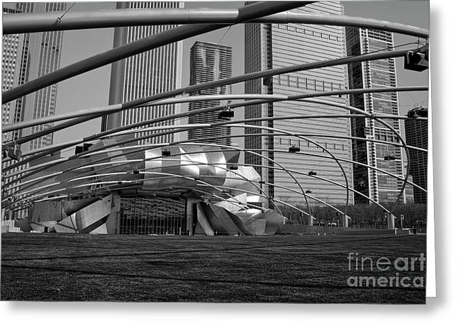 Citizens Park Greeting Cards - Millennium Park III visit www.AngeliniPhoto.com for more Greeting Card by Mary Angelini