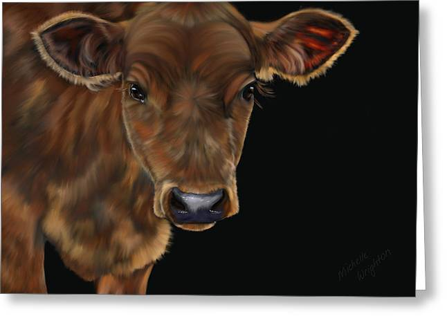 Milo Greeting Card by Michelle Wrighton