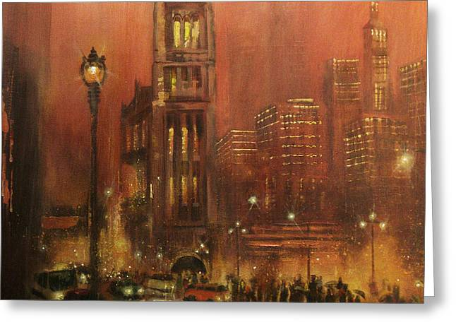 Milwaukee City Hall Greeting Card by Tom Shropshire