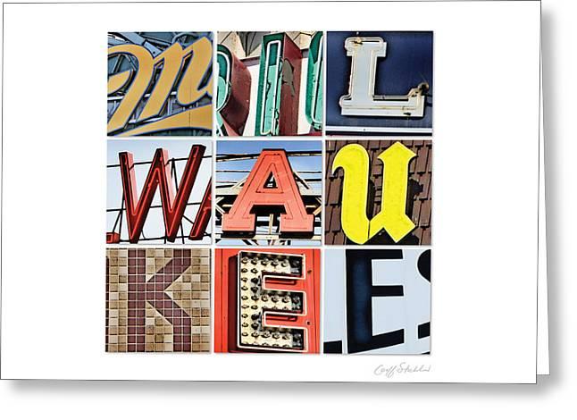 Milwaukee Greeting Cards - Milwaukee Greeting Card by Geoff Strehlow
