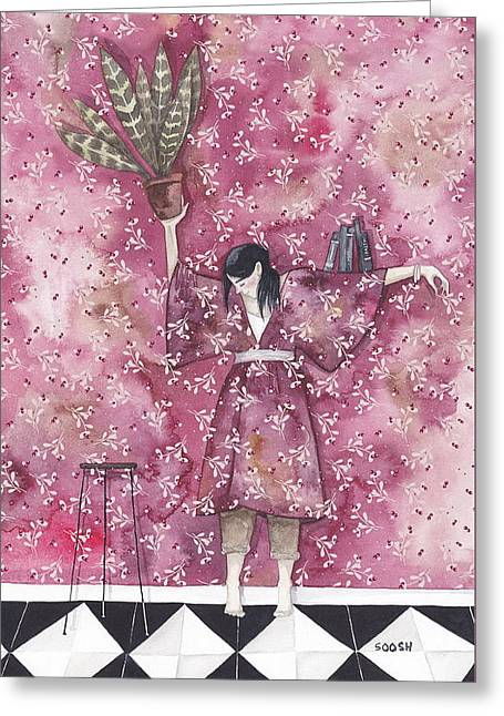 Mimicry Greeting Card by Soosh