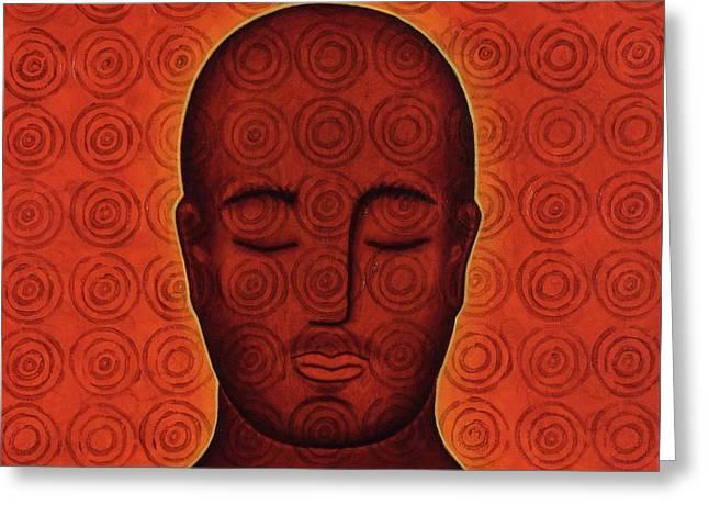 Mind Circles Greeting Card by Gloria Rothrock