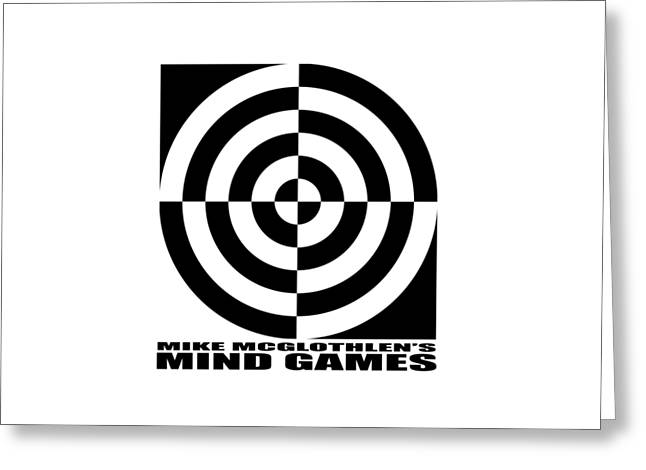 Vertical Drawings Greeting Cards - Mind Games 1SE Greeting Card by Mike McGlothlen