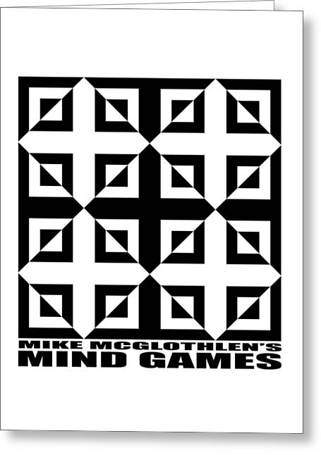 T Shirts Greeting Cards - Mind Games 37SE Greeting Card by Mike McGlothlen
