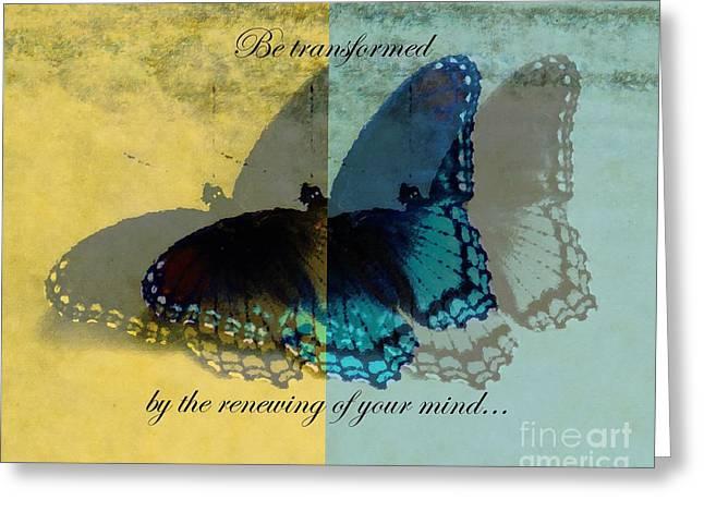 Renewing Greeting Cards - Mind Renewal 2 Greeting Card by Anita Faye
