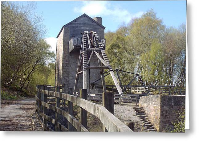 Minera Lead Mine In Spring Greeting Card by Brainwave Pictures