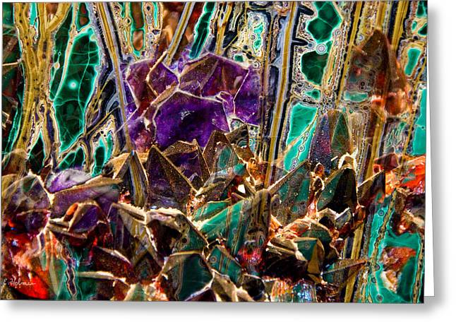 Christopher Holmes Greeting Cards - Mineral Maelstrom Greeting Card by Christopher Holmes