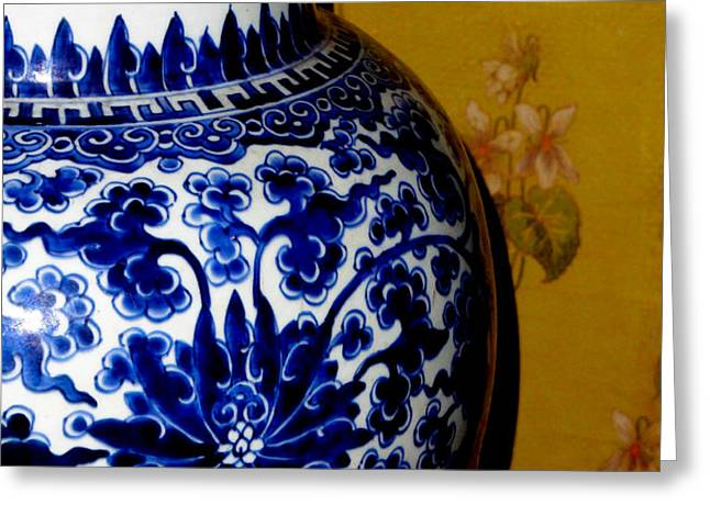 Ming Vase Greeting Card by Al Bourassa